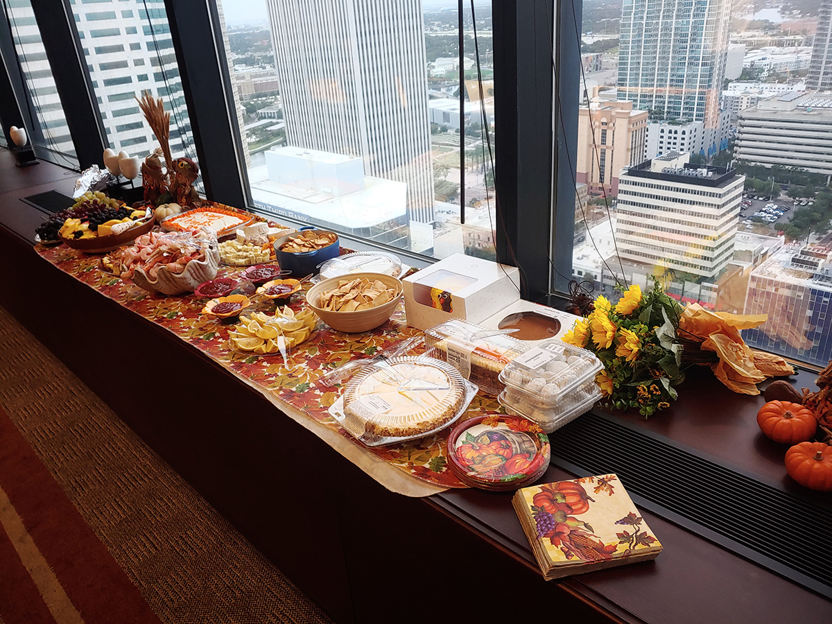 Nov 14, 2019 - Anthony & Partner's attorneys and staff celebrated a wonderful Thanksgiving feast.